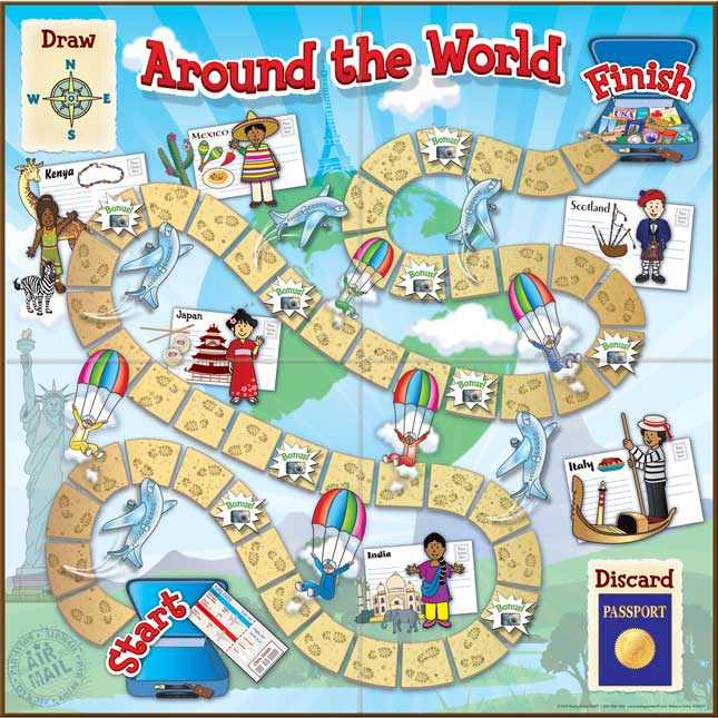Grades 2-3 Math Adventures Games - Set 2