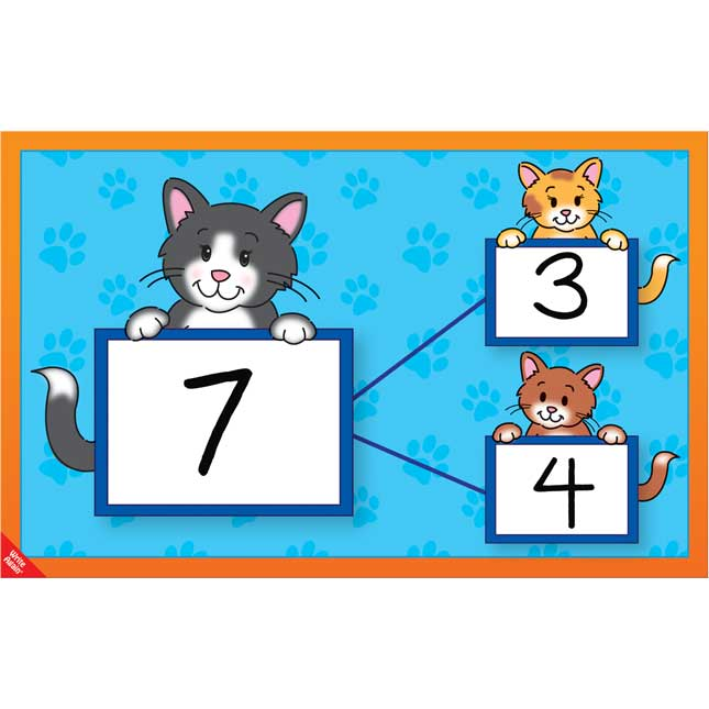 Number Bonds Work Mats Set™ - Animals