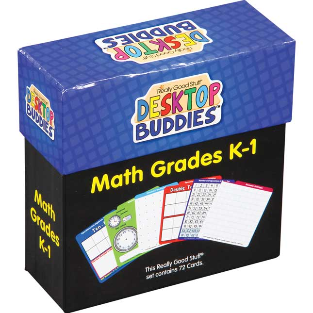 Desktop Buddies™ - Math Grades K-1