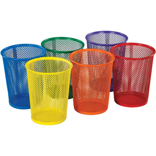 Large Mesh Cups - 6 Colors