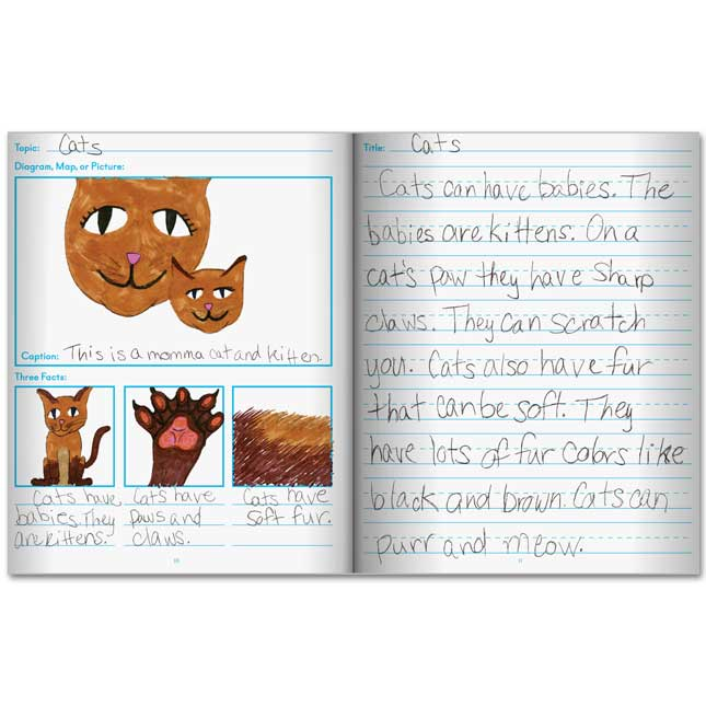 Informational Writing Journals - 12 journals