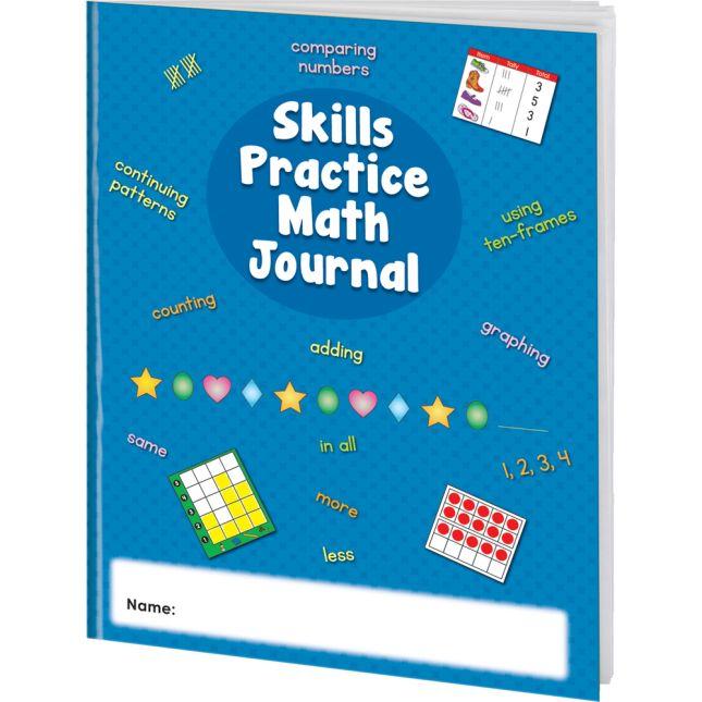 Skills Practice Math Journals - 12 journals