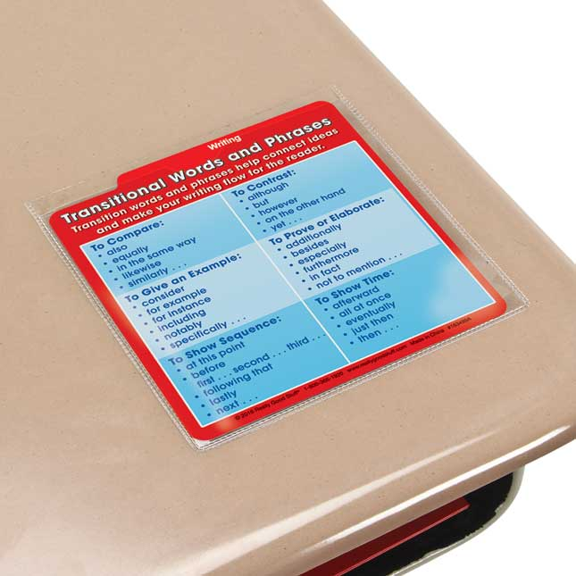Desktop Buddies™ With Sleeves - ELA Grade 5 - 54 cards, 12 sleeves