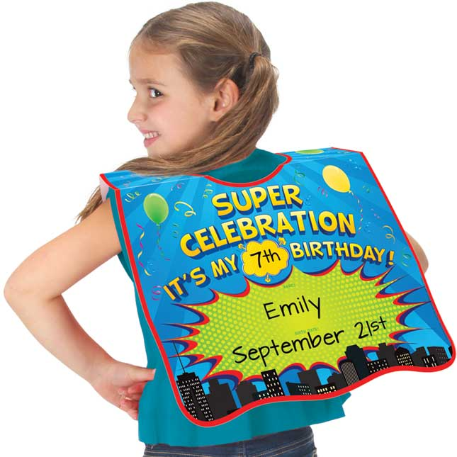 Super Celebration Birthday Capes