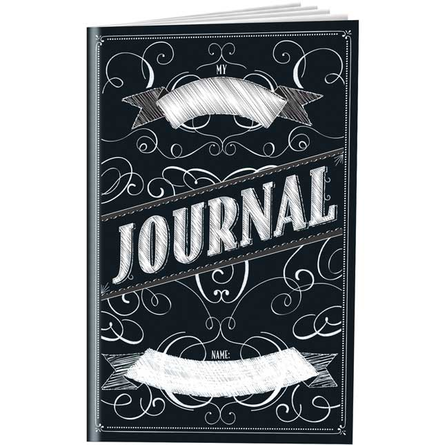 Chalkboard Style Writing Journals - 12 Pack