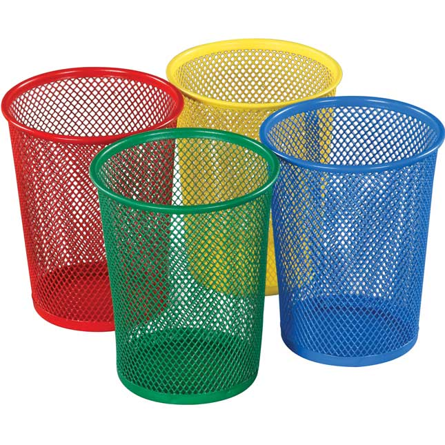 Large Mesh Cups - 4 Colors