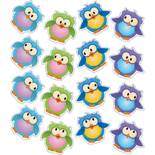EZ Stick™ Owl Friends Door Sign And Student Name Pieces