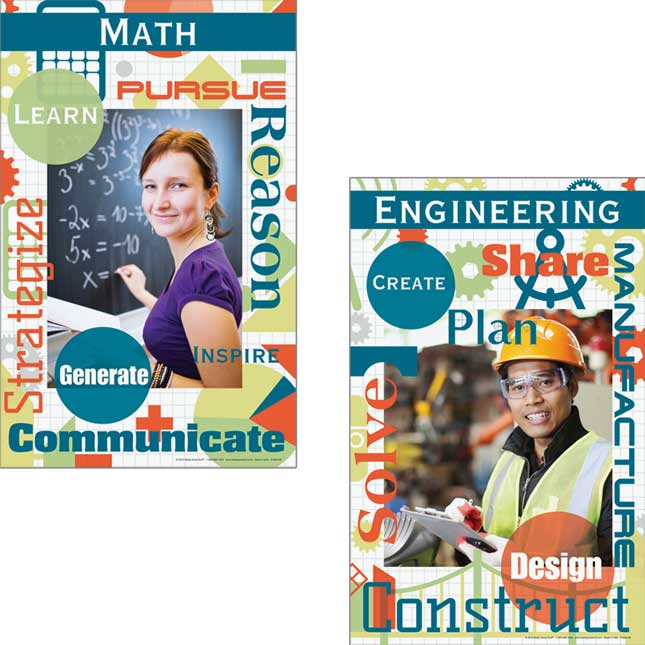 STEM Careers Poster Set