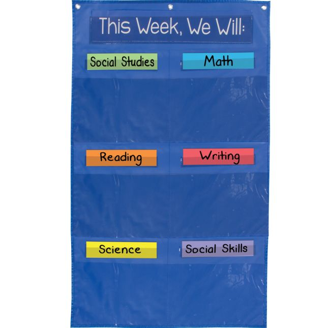 Learning Goals Pocket Chart™