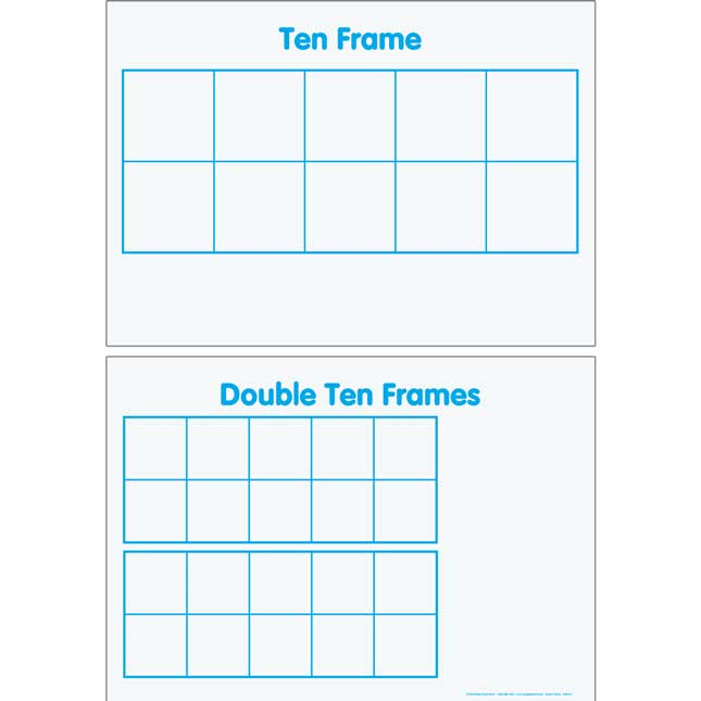 Primary Math Tools Sturdy Magnetic Dry Erase Mats™