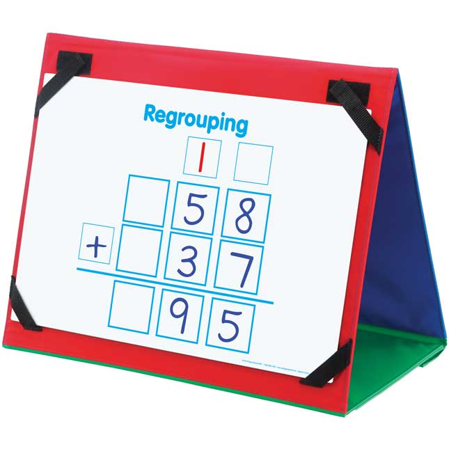 Primary Math Tools Sturdy Magnetic Dry Erase Mats™ - 3 mats