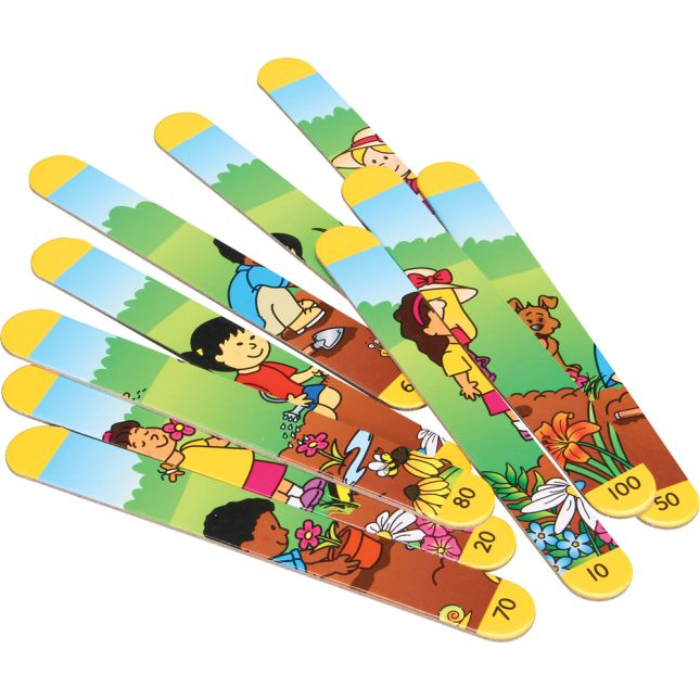 Picture Sticks™ - Skip Counting