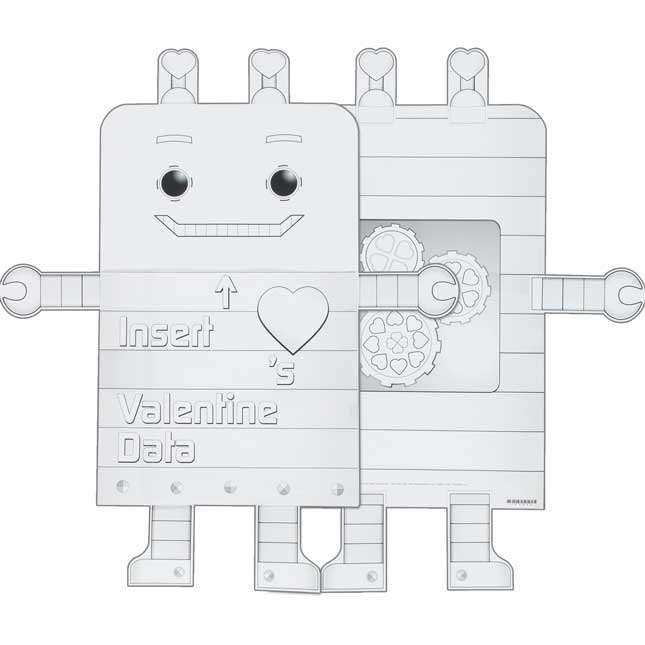 Ready-To-Decorate® Valentine Collection Robots