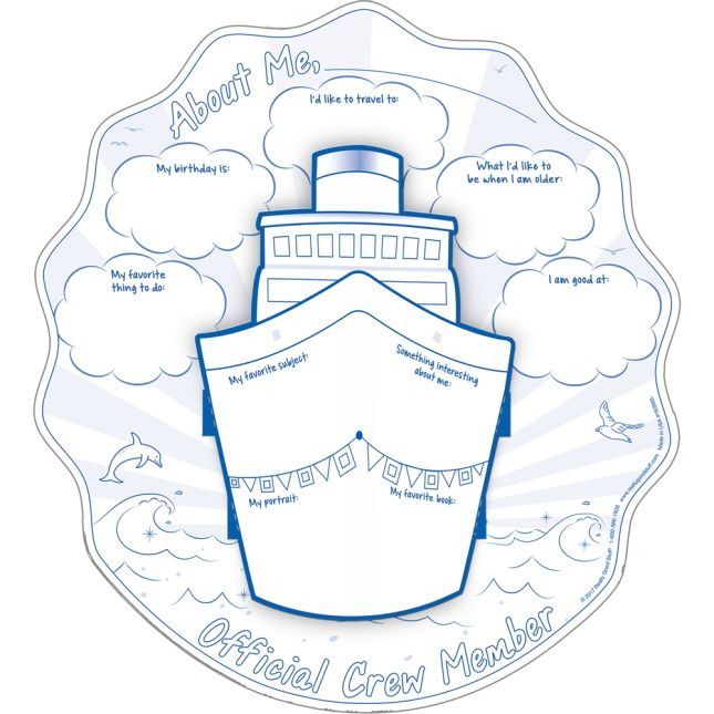 Ready-To-Decorate® Nautical 3-D Ships Posters
