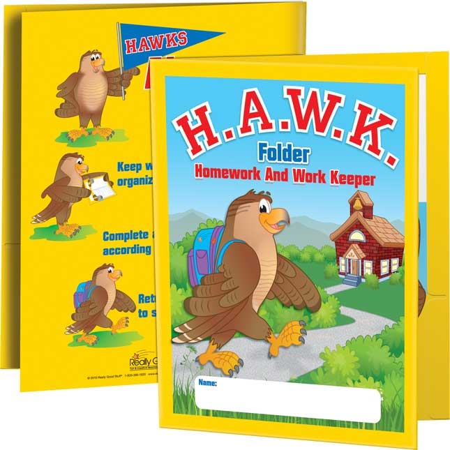 H.A.W.K. Folders - 2 Pocket - 12 Pack