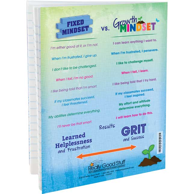 Growth Mindset Journals - 12 Pack