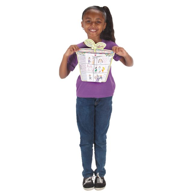 Ready-To-Decorate® 3-D Growth Mindset Flowerpots