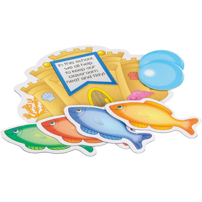 Job Assignment Magnets - Under The Sea - 45 magnets