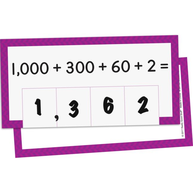 Place Value Activity Cards