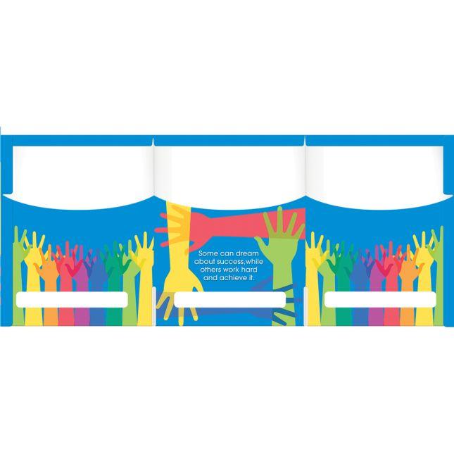 Group Project Tri-Fold 3-Pocket Folders