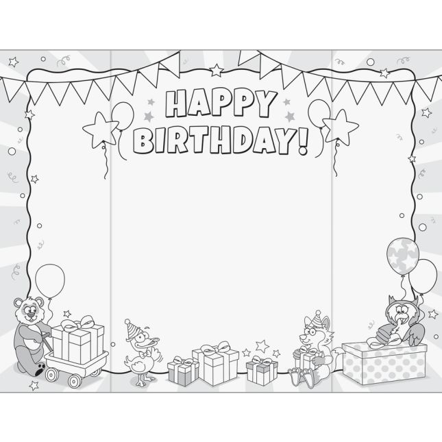 Ready-To-Decorate® Birthday Hug Cards