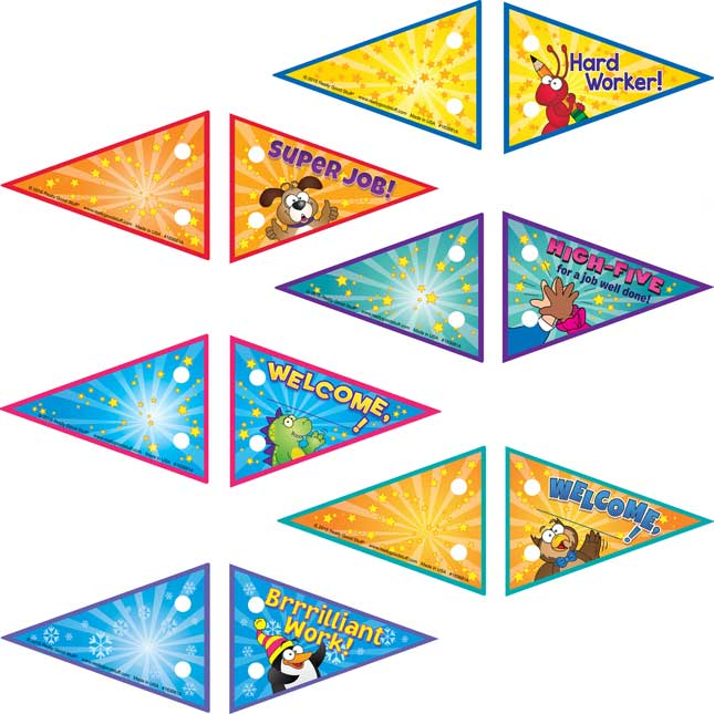 Celebration Pencil Flags And Pencils Kit