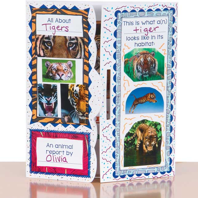 Ready-To-Decorate® Lapbooks - Animals - 24 lapbooks