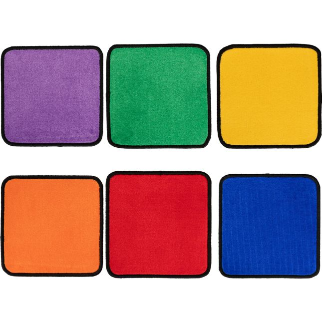 Flexible Seating Squares  6 Colors