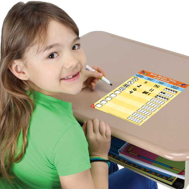 Math Mats Dice Games Complete Set