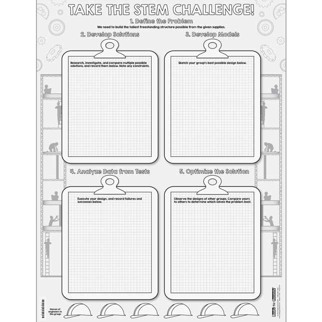 Ready-To-Decorate® STEM Challenge Posters