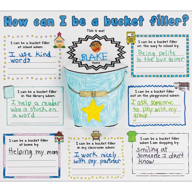 Ready-To-Decorate® Bucket Filler Posters