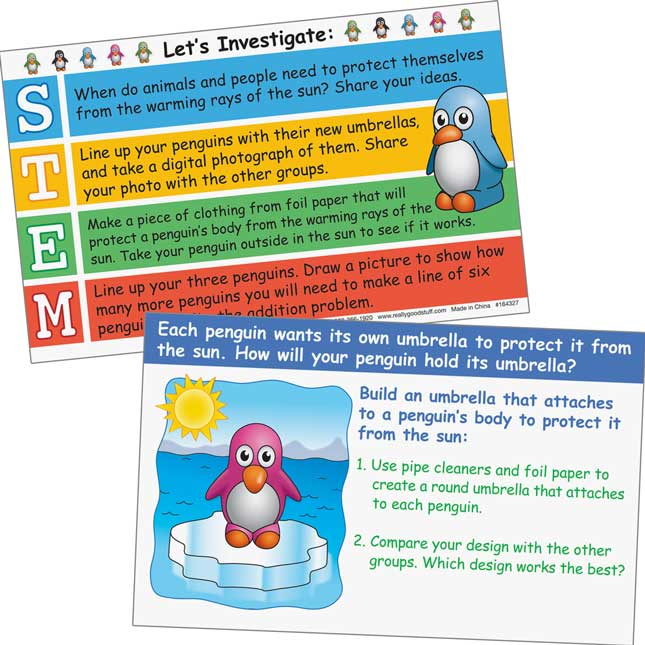 STEM-tivity™ Class Kits - Penguin Cool-Down - 1 multi-item kit