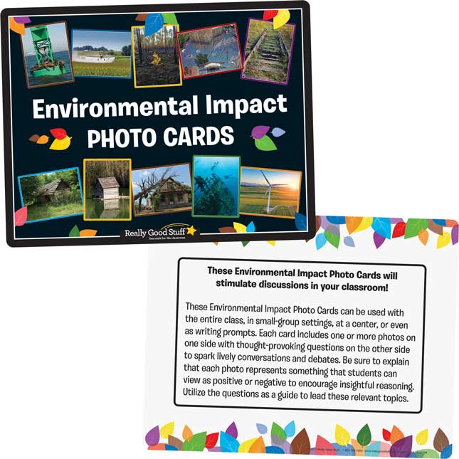 Environmental Impact Photo Cards - 25 cards