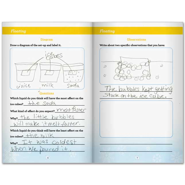 Ice Cube Observation Journals - 24 journals