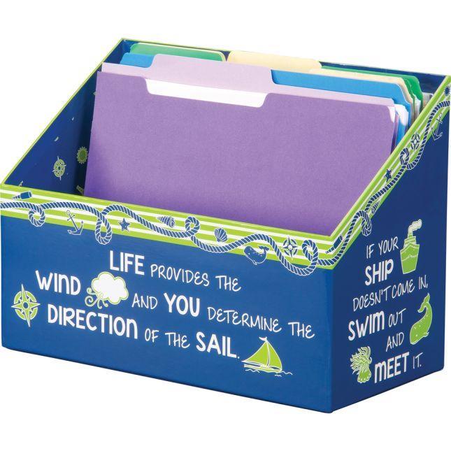 Nautical Folder File