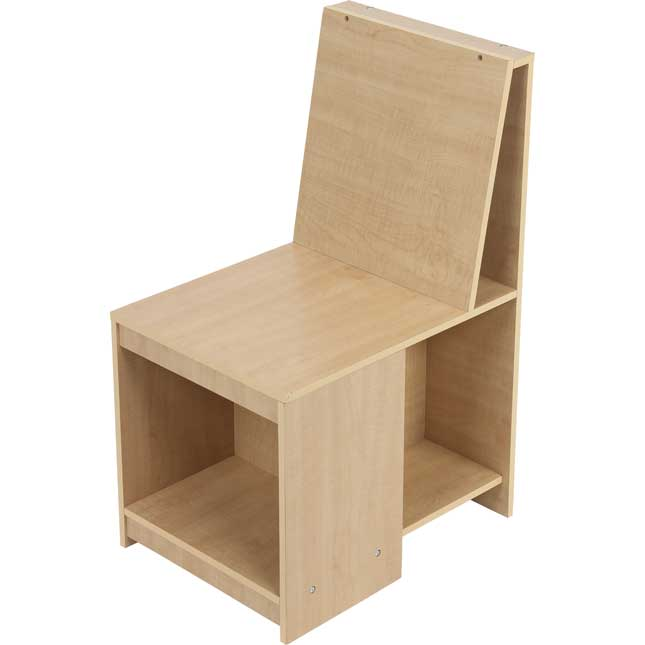 Really Good Stuff Sit Store Chair Pair - 2 Wooden Chairs
