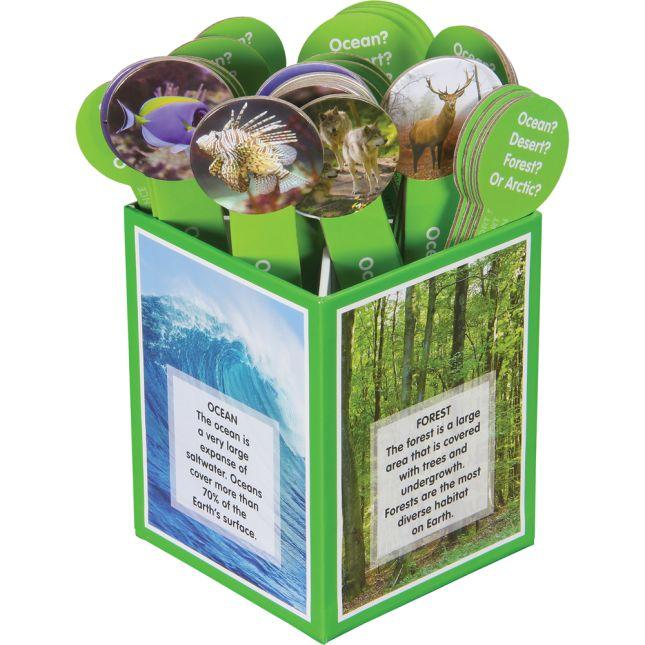 Science Sorts™ - Habitats - 40 sticks, 1 box