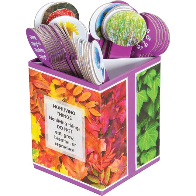 Science Sorts™ - Living/Nonliving Things - 40 sticks, 1 box