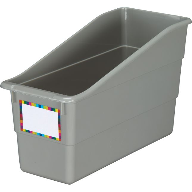 Pebble Durable Book and Binder Holder - Single 1 bin