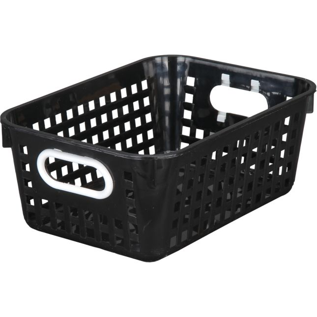 Medium Rectangle Book Basket - Single Basket_0