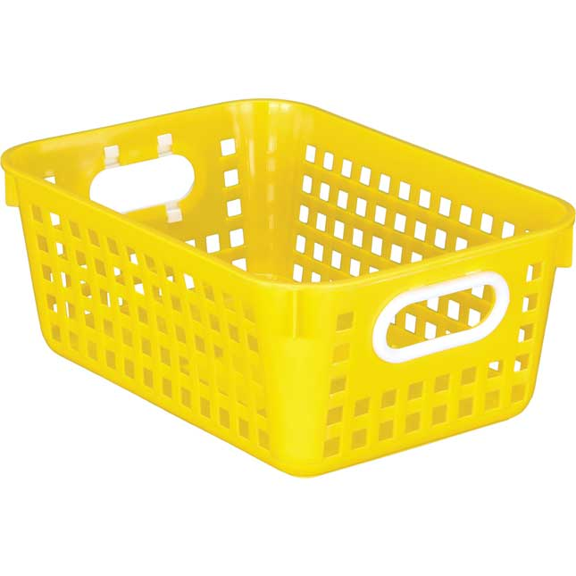 Medium Rectangle Book Basket - Single Basket_1