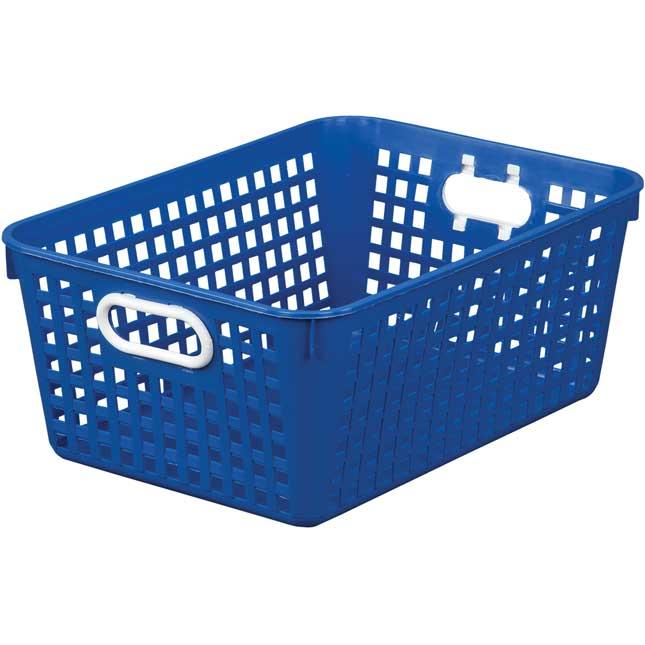 Large Rectangle Book Basket - Single Basket