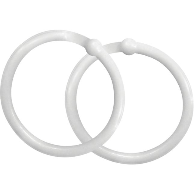Plastic Rings - Set of 12