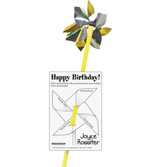 Happy Birthday! Cards With Pinwheels