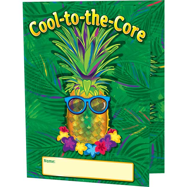 Cool-To-The-Core Tri-Fold 3-Pocket Folders