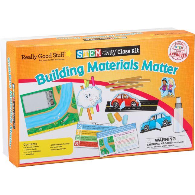 STEM-tivity™ Class Kit - Building Materials Matter