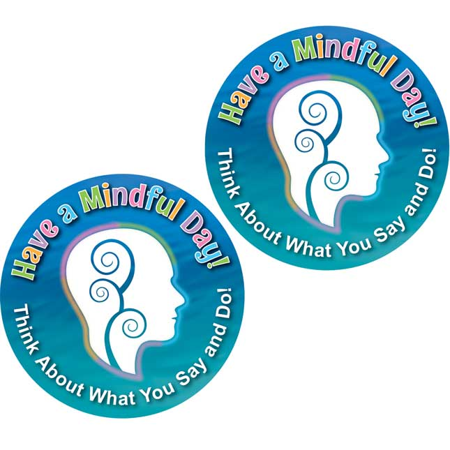 Have A Mindful Day! Stickers - 36 stickers