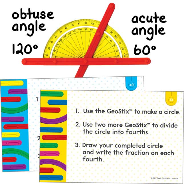 Geometric Plane Figures And Task Cards Kit