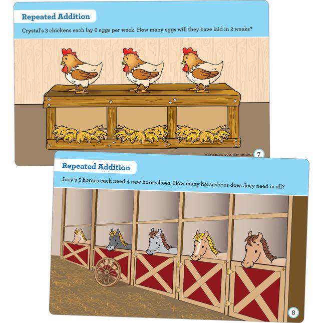 Farm Animal Task Cards - 22 cards