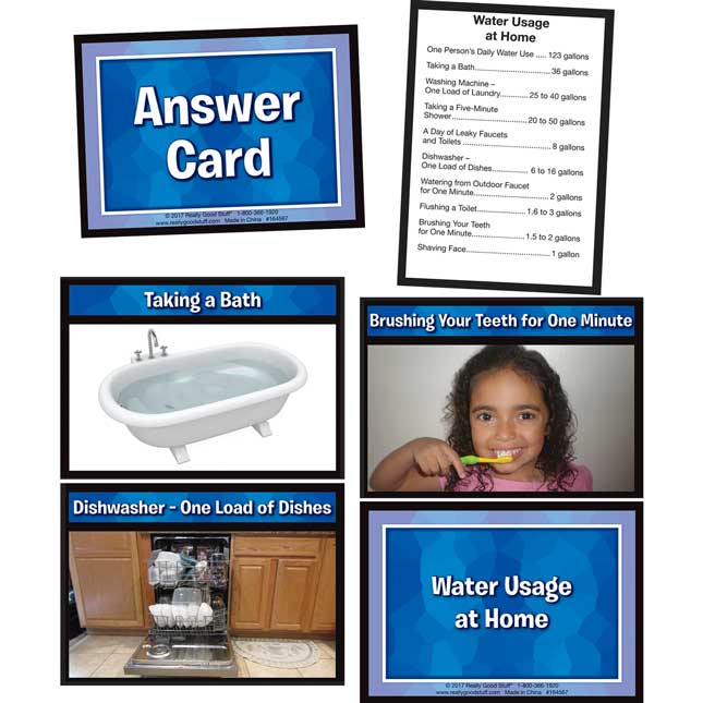 Ordering And Discussion Cards - Water - 69 cards